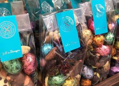 Les chocolats Jeff de Bruges